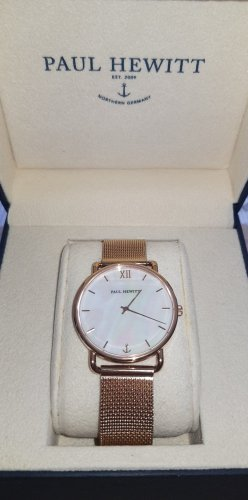 Paul Hewitt Rosègold Uhr