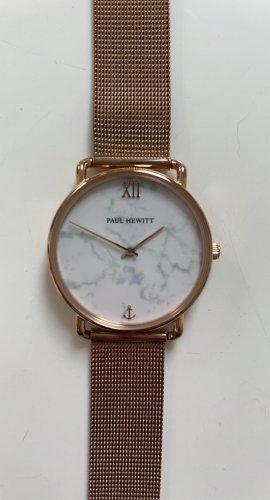 Paul Hewitt Uhr | Roségold | Mamor-Optik