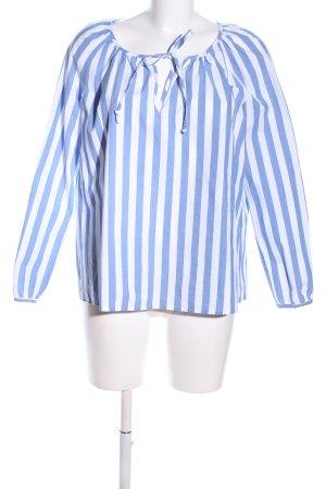 Paul & Joe Hemd-Bluse blau-weiß Streifenmuster Business-Look