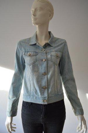 Paul & Joe Jeans Jacke Gr. 34 dt. / 36 fr. Hellblau
