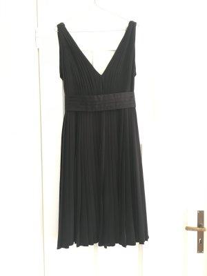 Paul & Joe Kleid schwarz Black dress Petite robe noire plissé  soleil