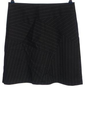 Paul & Joe Mini-jupe noir motif rayé style décontracté