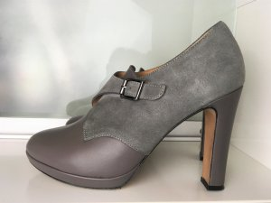 * PAUL & JOE Sister * PUMPS STIEFELETTEN grau WILD LEDER HIGH HEEL Gr 39