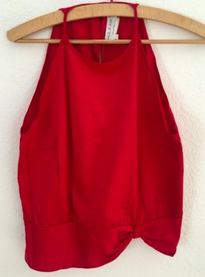 Paul & Joe Blouse sans manche rouge coton