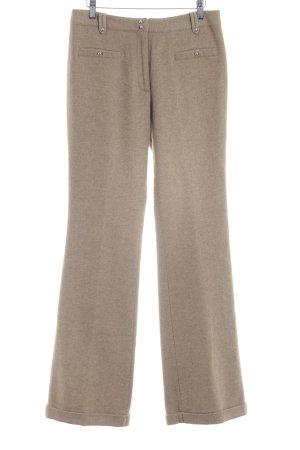 Paul & Joe Pantalone di lana color cammello stile professionale