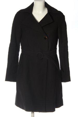 Paul & Joe Manteau en laine noir style d'affaires
