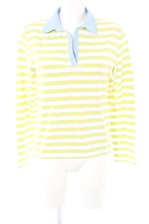 Paul & Shark Polo-Shirt Streifenmuster Casual-Look