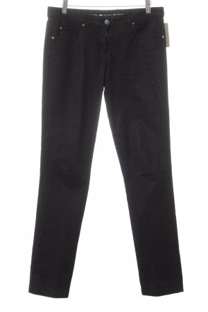 Paul & Shark Straight-Leg Jeans schwarz Casual-Look