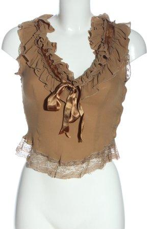 Paul Smith Body koszulowe brązowy Elegancki
