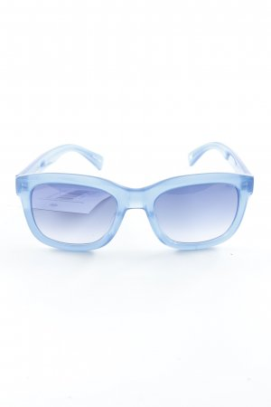"Paul Smith Occhiale da sole spigoloso ""Farren"" blu"