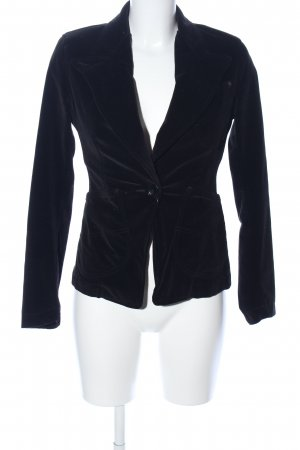 Paul Smith Long-Blazer schwarz Casual-Look