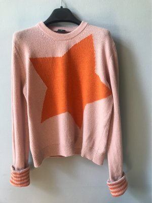 Paul Smith Maglione lavorato a maglia rosa pallido-arancione