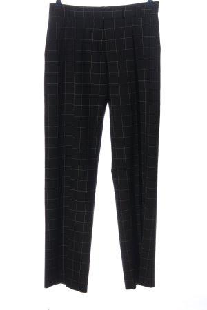 Paul Smith Pantalone jersey nero-bianco stampa integrale stile casual