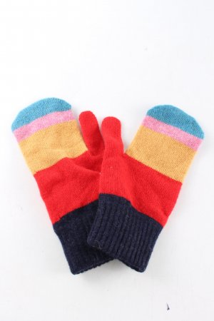 Paul Smith Knitted Gloves striped pattern casual look