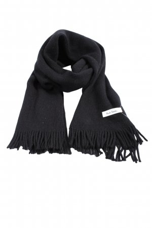 Paul Smith Knitted Scarf black casual look