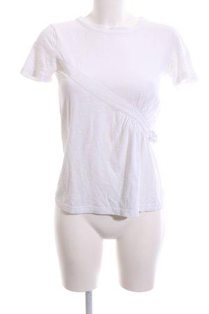 Paul Smith T-Shirt weiß Casual-Look