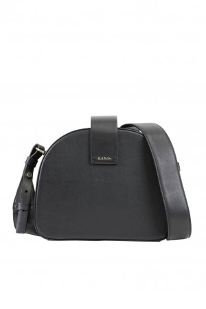 Paul Smith Umhängetasche in Schwarz aus Leder