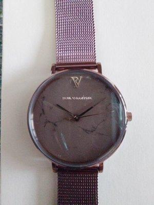 Paul Valentine Analoog horloge veelkleurig Metaal