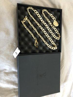 Paul Valentine Chain Belt gold-colored