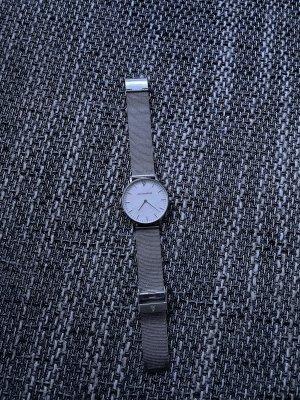 Paul Valentine Zegarek z metalowym paskiem srebrny