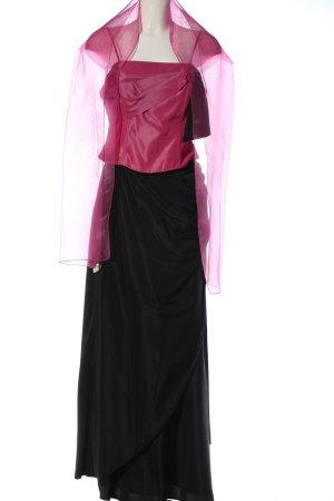 Paula Richi Damespak roze-zwart wetlook