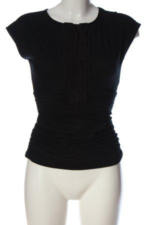 Paule ka Sleeveless Blouse black casual look