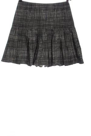 Paule ka Flared Skirt black-natural white check pattern casual look