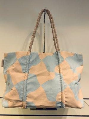 Paule ka Bolsa de hombro rosa claro-azul claro
