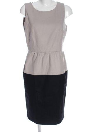 Paule ka Vestido de lana gris claro-negro estilo «business»