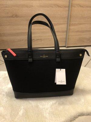 Pauls Boutique Shopper zwart-neonroos