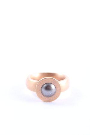 PAVO REAL Statementring bronzefarben Casual-Look