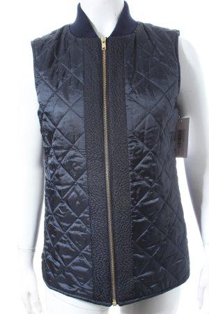 Pavuna Steppweste kadettblau-dunkelblau Steppmuster sportlicher Stil