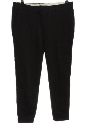 PBO Pantalone da abito nero stile professionale