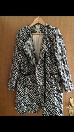 PBO Mantel schwarz weiß 36