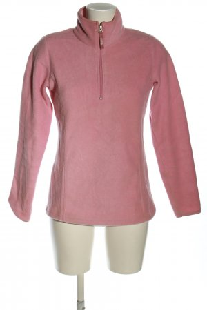 pbx basics Fleece trui roze casual uitstraling