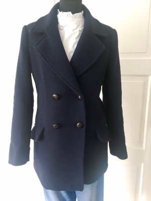 Mango casual Naval Jacket dark blue