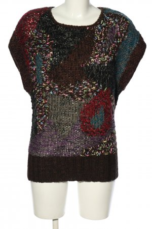 peace and love by calao Long Cardigan cable stitch casual look