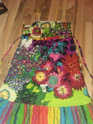 Peace & Love Minikleid Flower Power Boho 14 34-36 34