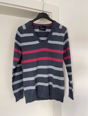 Peak performance V-Neck Sweater grey-pink