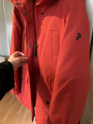 Peak performance Chaqueta con capucha rojo