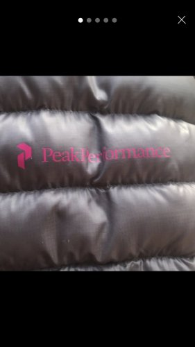 Peak performance Veste de sport multicolore