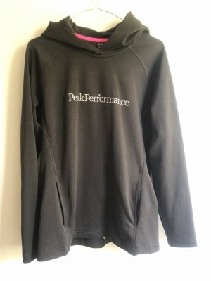 Peak performance Hooded Sweater black-white