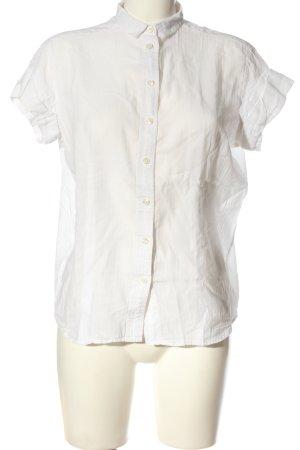 Peak performance Camicia a maniche corte bianco stile professionale