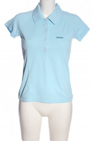 Peak performance Polo Shirt blue casual look
