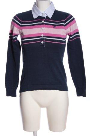 Peak performance Polo-Shirt Streifenmuster Casual-Look