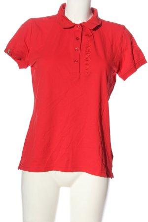 Peak performance Polo rosso stile casual