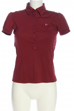Peak performance Polo-Shirt rot Casual-Look
