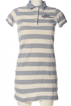 Peak performance Polo Dress cream-light grey allover print casual look