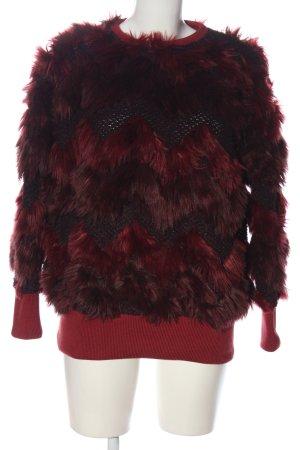 Peak performance Crewneck Sweater red color gradient casual look