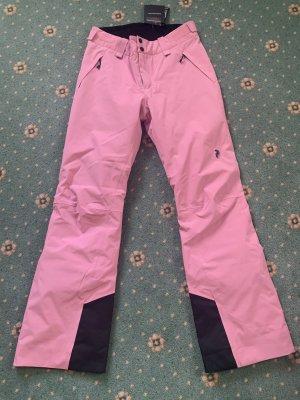 Peak performance Pantalon thermique rose fluo